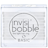 invisibobble Basic The Light Hair Ring - Crystal Clear (10 Pack)