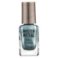 Barry M Cosmetics Molten Metal Nail Paint - Blue Glacier