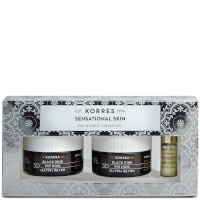 KORRES Sensational Skin 3D Black Pine Day and Night Skin Care Duo