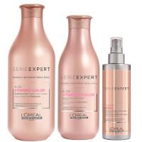 L'Oréal Professionnel Serie Expert Vitamino Color Shampoo, Conditioner and 10-in-1 Trio