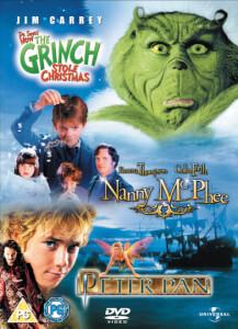 Grinch / Nanny McPhee / Peter Pan