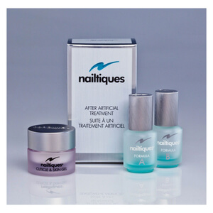 Kit de tratamaiento After Artificial de Nailtiques (3 productos)