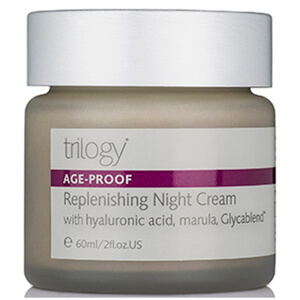 Trilogy Replenishing Night Cream -yövoide 60ml