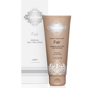 Lotion Auto-bronzante  Fair Gradual Self Tan Fake Bake 170 ml