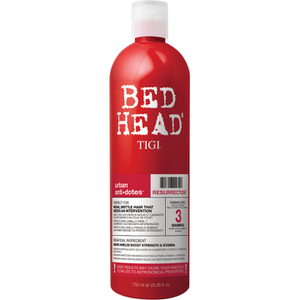 Champú cabello frágil y dañado Tigi Bed Head Resurrection Shampoo Level 3 Urban Antidotes - 750ml