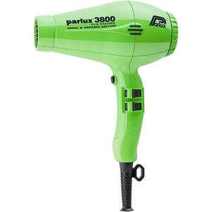 Parlux 3800 环保离子陶瓷吹风机 - 绿色