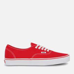 Zapatillas Vans Authentic - Unisex - Rojo