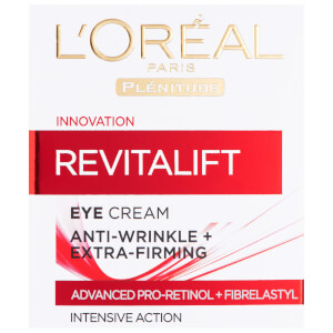 Crema de ojos reafirmante?Dermo Expertise Revitalift Anti-Wrinkle + Firming Eye Cream de L'Oreal Paris (15 ml)