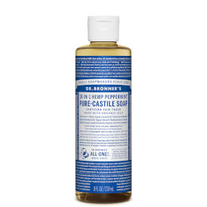 Dr Bronner's Pure Castile Liquid Soap Peppermint 237ml
