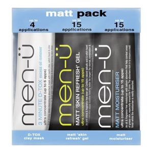 men-ü Matt Pack (3 produkter)