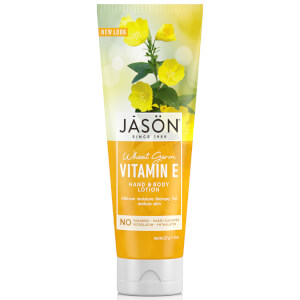 JASON Revitalising Wheatgerm Vitamin E Hand and Body Lotion (227g)