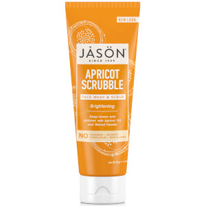 JASON Apricot Scrubble Facial Wash & Scrub (128ml)