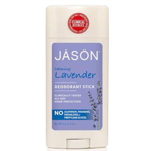 Desodorante en barra Calming Lavander de JASON (75 g)