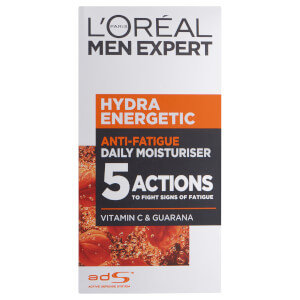 L'Oreal Paris Men Expert Hydra Energetic Daily Anti-Fatigue Moisturizing Lotion (1.7oz)