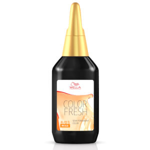 Coloración semi-permanente rubio claro natural WELLA COLOR FRESH - Light Natural Gold Blonde 8.03 (75ml)