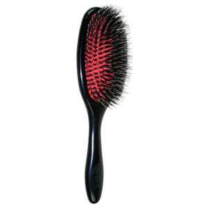 Denman Natural Bristle Cushion Brush - Medium