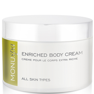 MONUspa Rose & Lemon Enriched Body Cream -vartalovoide 180ml