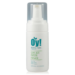 Espuma de Limpeza de Rosto Antibacteriana da Green People Oy! (100 ml)