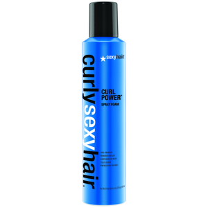 Spray Curly Curl Power para cabello rizado de Sexy Hair de 250 ml