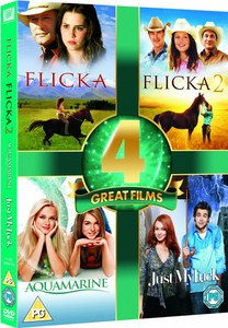 4 Great Films - Aquamarine / Just My Luck / Flicka 1 and 2