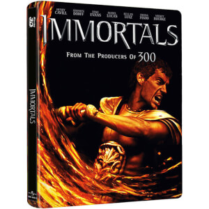 Immortals 3D - Steelbook (Includes 3D Blu-Ray, 2D Blu-Ray and Digital Copy)