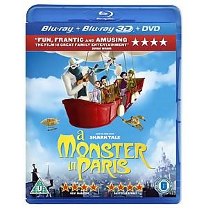 A Monster in Paris 3D (3D Blu-Ray, 2D Blu-Ray en DVD)