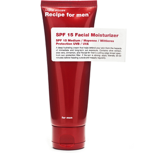 Recipe for Men - Facial Moisturizer SPF15 75ml