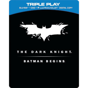 Batman Begins / The Dark Knight - Limited Numbered Steelbook Edition