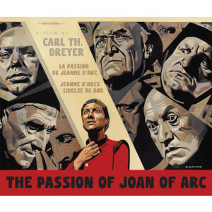 The Passion of Joan of Arc (La Passion De Jeanne Darc) - Dual Format Steelbook Edition (Blu-Ray and DVD) (UK EDITION)