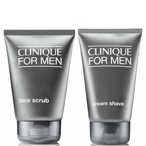 Clinique For Men Closer Shave Duo -partavaahto ja kuorinta-aine (paketti)