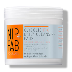NIP + FAB Glycolic Fix Daily Cleansing Pads - 60 servietter