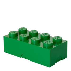 LEGO Lunch Box - Dark Green