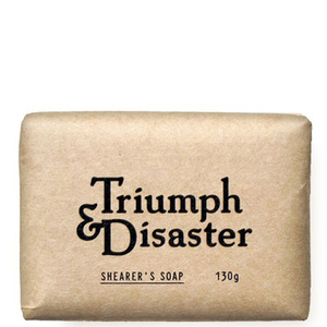 Shearers Soap de Triumph & Disaster 130g