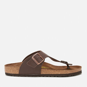 Birkenstock Men's Ramses Toe Post Sandals - Dark Brown