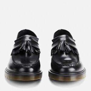 Dr. Martens Men's Adrian Pw Polished Leather Loafers - Black: Image 5
