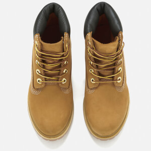 Timberland Women's 6 Inch Premium Leather Boots - Wheat: Image 3