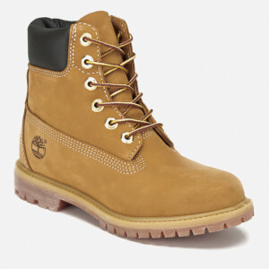 Timberland Women's 6 Inch Premium Leather Boots - Wheat: Image 2