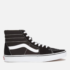 Vans Sk8-Hi Canvas Hi-Top Trainers - Black/White