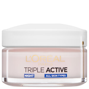 L'Oréal Paris Dermo Expertise Triple Active Hydrating Night Moisturiser krem nawilżający na noc (50 ml)