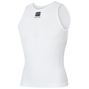 Sportful 2nd Skins X-Lite Sleeveless Baselayer - White