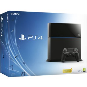 Sony PlayStation 4 500GB Console - Black