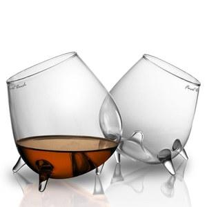 Lot de deux verres Relax Cognac