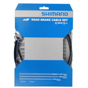 Shimano Road Brake Cable Set With Stainless Steel Inner
