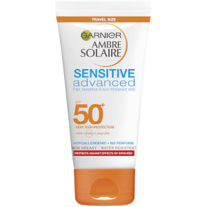 Ambre Solaire Mini Sensitive Hypoallergenic Sun Protection Cream SPF50 50ml