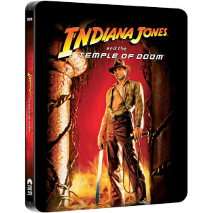 Indiana Jones and the Temple of Doom - Zavvi Exclusive Limited Edition Steelbook