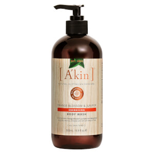 A'kin Aromatherapy Body Wash 500ml - Orange Blossom