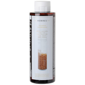 KORRES Natural Rice Proteins and Linden -shampoo ohuille hiuksille 250ml