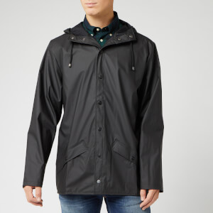 RAINS Men's Jacket - Black