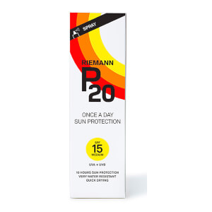 Riemann P20 Once a Day Sun Protection Spray SPF15 100ml: Image 1