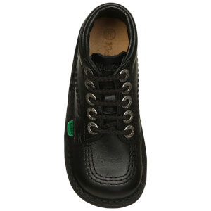 Kickers Kids' Kick Hi Boots - Black: Image 4